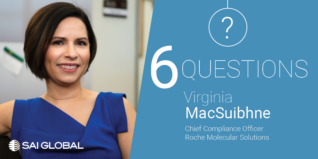 Six questions with an ethics and compliance officer virginia macsuibhne sai global - Compliance officer interview ...