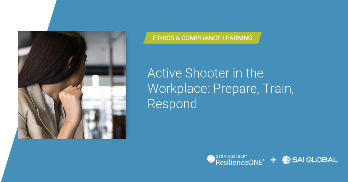 Workplace Shooting: How to Prepare, Train and Respond
