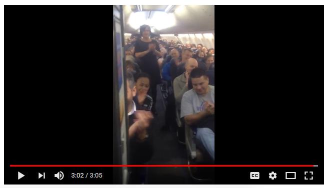 source: Hilarious Southwest Flight Attendant (24M views)